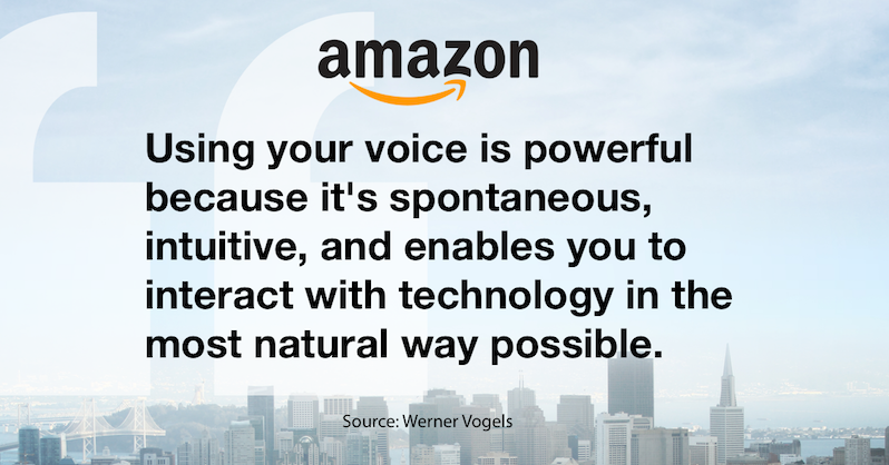 voice-first digital assistants amazon