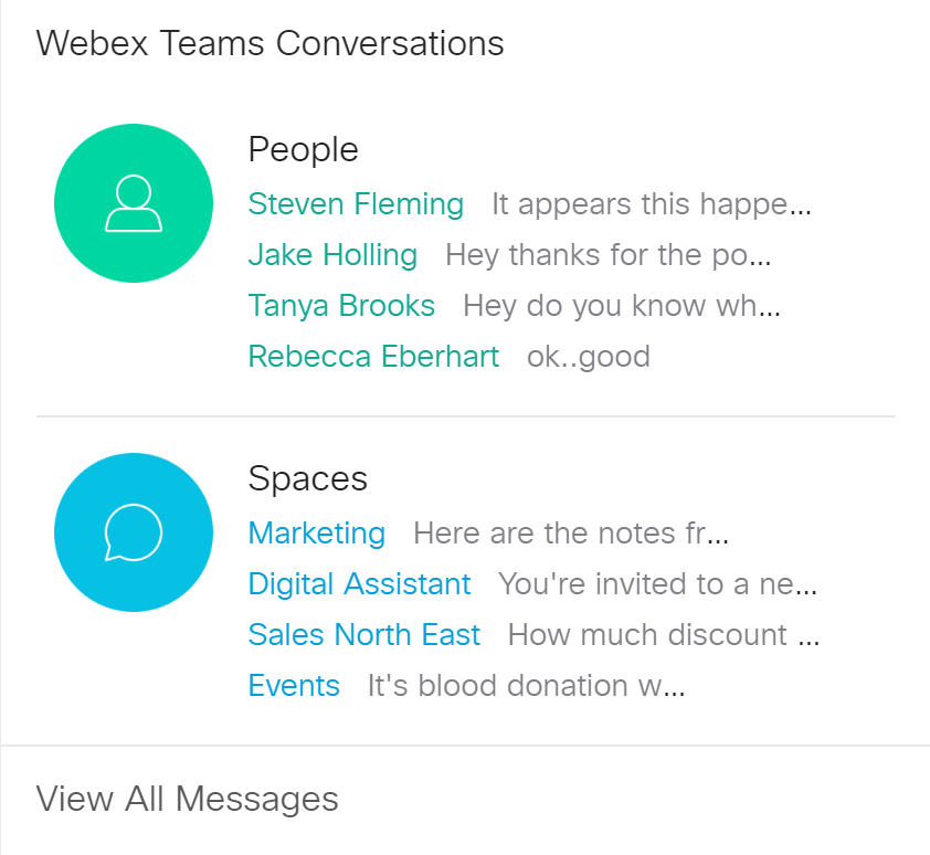 Get recent conversations right on your Board.